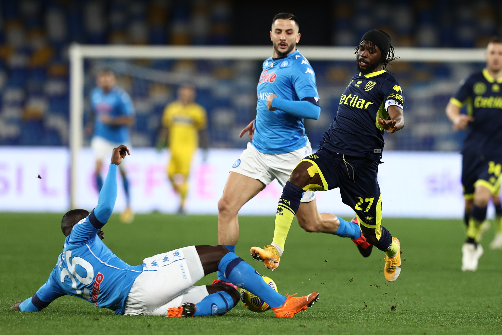 Napoli-Parma 2-0, le migliori foto del match.<br /><br />