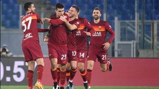 "Mancini-Mkhitaryan-Mayoral: la Roma vola in 9' col ""fattore M"":"