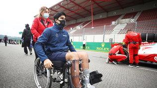 Correa torna al volante a un anno e mezzo dal tragico incidente di Spa