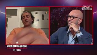 """Mancini: """"Allenatore è un'altra cosa, credo Pirlo possa far bene"""""""
