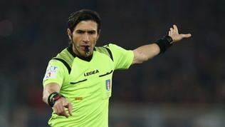 """Calvarese spiega il rigore per la Juve: """"Lo prende per un braccio"""""""