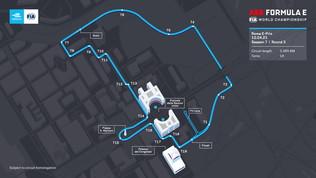 Nuove curve e più spettacolo: ecco il tracciato del Roma E-Prix all'Eur