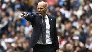 """Zidane è una furia  Real : """"Io e i miei calciatori meritiamo rispetto!"""""""