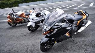 La Suzuki dà una scossa alla terza generazione di Hayabusa