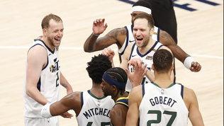 Nessuno nella Lega come i Jazz,Sacramento sgambetta i Clippers