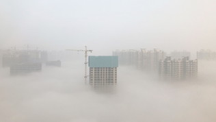 Cina contro lo smog: app per denunciare aziende inquinanti