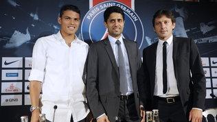 """Thiago Silva, bordata alPsg: """"Meritavo molto più rispetto di così"""""""