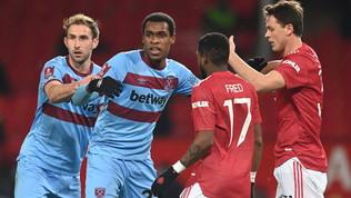 Diop ko: il West Ham battezzail primo cambio per commozione cerebrale