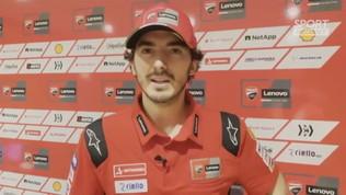 """Bagnaia: """"Voglio vincere il mio primo GP"""""""