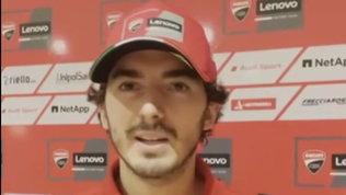 """Bagnaia,idee chiare: """"L'obiettivo è vincere la mia prima gara in MotoGP"""""""