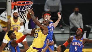 L'overtime sorride ancora ai Lakers, Antetokounmpo non basta ai Bucks