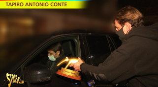 Conte: Tapiro d'oro per il litigio con Agnelli, ma lui lo rifiuta