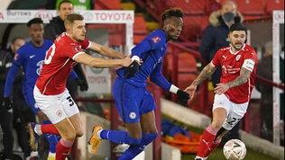 FA Cup: Abraham porta il Chelsea ai quarti. Avanti anche il Southampton