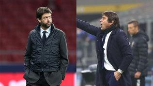Juve-Inter: cosa rischiano Agnelli e Conte dopo la lite