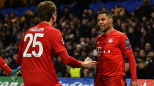 Il Bayern colleziona trofei ma perde i pezzi: Gnabry-Muller, niente Lazio