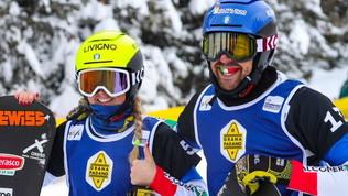 Italia d'argento ai Mondiali di snowboardcross con Moioli-Sommariva