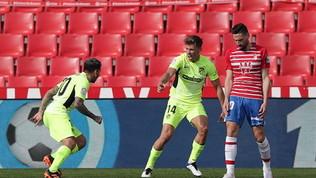 L'Atletico batte il Granada e resta a +8. Cinquina Barça, Siviglia ok