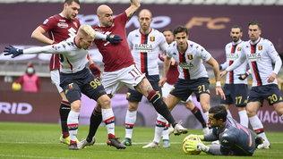 Torino e Genoa si annullano: le foto