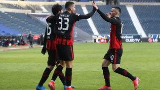 L'Eintracht non si ferma più: terzo posto firmato André Silva e N'Dicka
