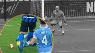 L'analisi sul rigore dato all'Inter