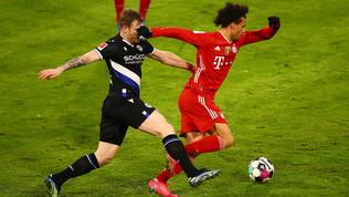 L'Arminia spaventa il Bayern, poi i campioni del mondo strappano il pari