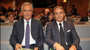"""Nazionale, Gravina: """"Con Mancini fino al Mondiale e anche oltre"""""""