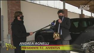 """Tapiro ad Agnelli: """"Gesti d'affetto con Conte"""""""
