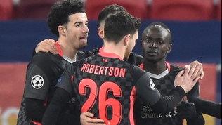 Salah e Mané non perdonano: il Liverpool batte il Lipsia e vede i quarti