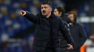 """Gattuso: """"Napoli in emergenza ma non siamo venuti qui in vacanza"""""""