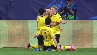 Solito Haaland: doppietta! Il Dortmund sbanca Siviglia