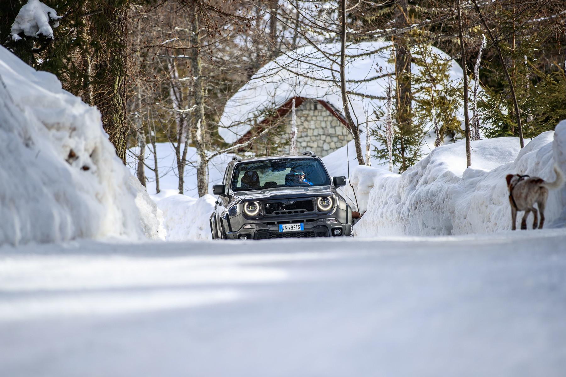 La prova della vettura da 190 CV. Foto di Luca Riva<br /><br />