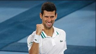 Medvedevstende Tsitsipas, sarà finale con Djokovic