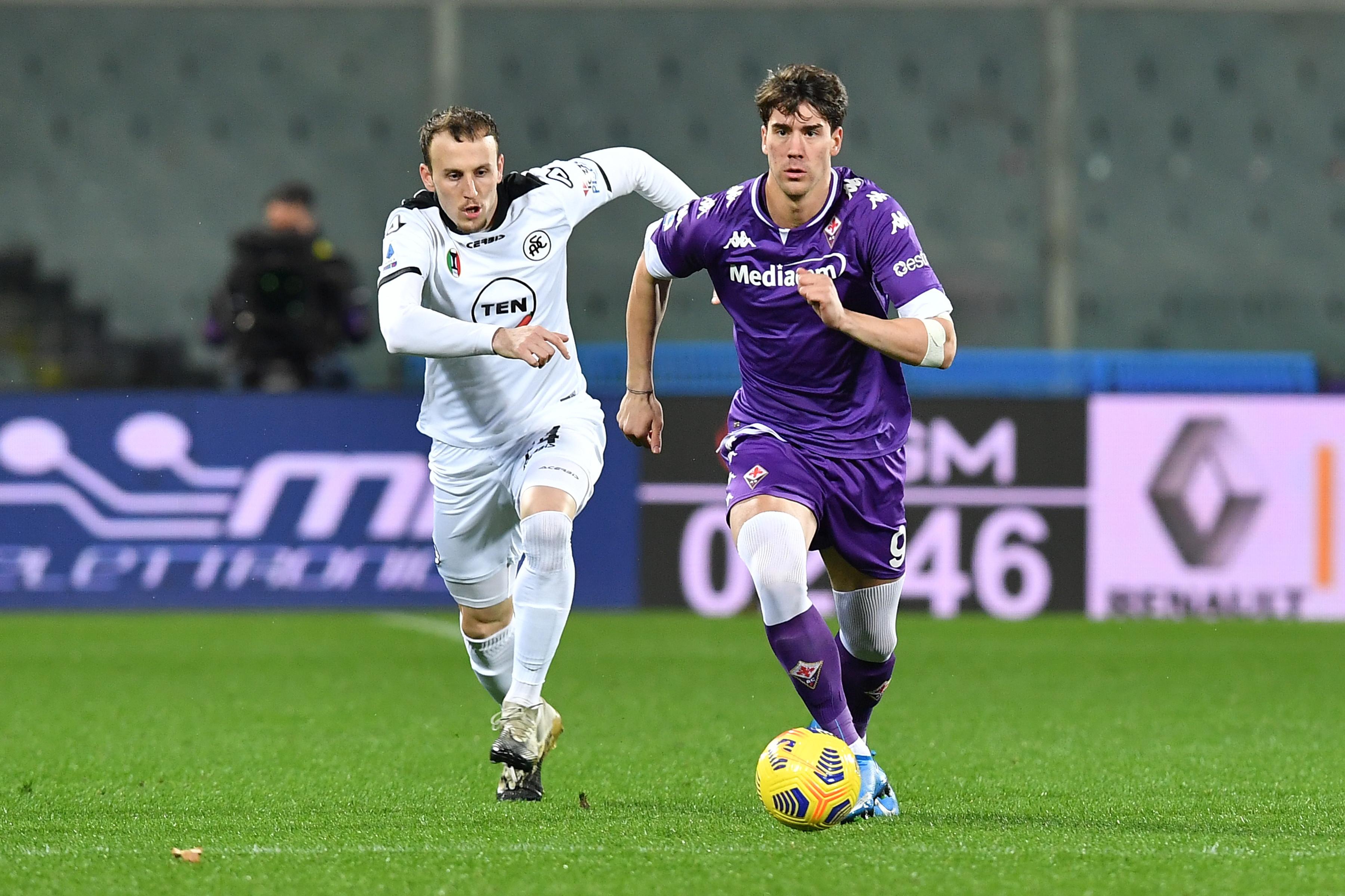 Le migliori foto di Fiorentina-Spezia 3-0<br /><br />