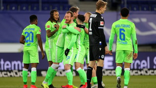 Il Wolfsburg non sbaglia: tris in casa del Bielefeld e terzo posto