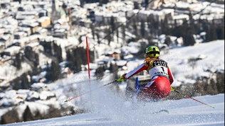 Liensberger d'oro, è trionfo nello slalom. Azzurre lontane, Brignone out