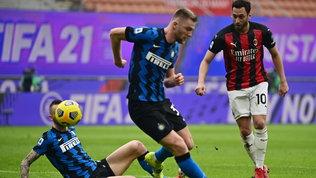 Milan-Inter 0-3, le foto del derby