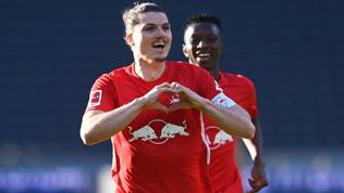Il Lipsia non spreca l'occasione: Hertha battuta e Bayern nel mirino