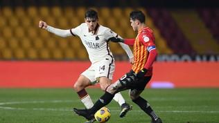 Benevento-Roma, le immagini del match