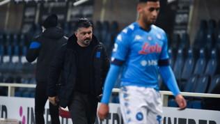 Rabbia AdL, ma Gattuso non rischia.Osimhenout 2 match,rientra Mertens