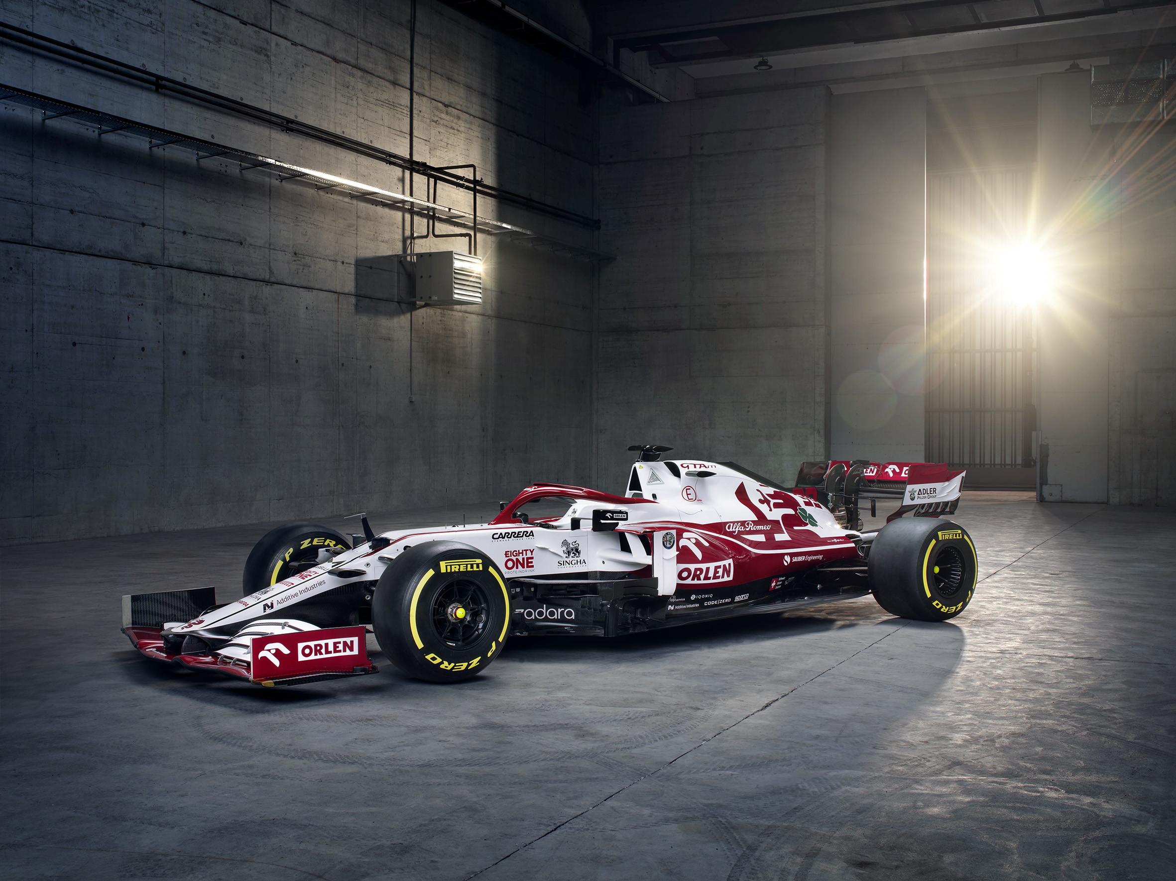 Ecco la nuova monoposto di Antonio e Kimi.<br /><br />