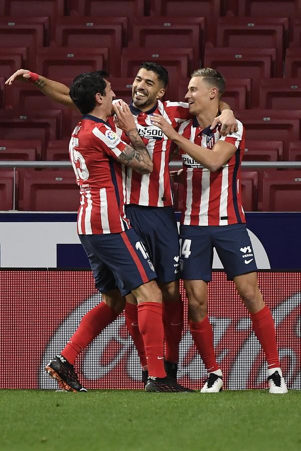 6) Suarez-Llorente (Atletico Madrid): 24 gol, 16+8