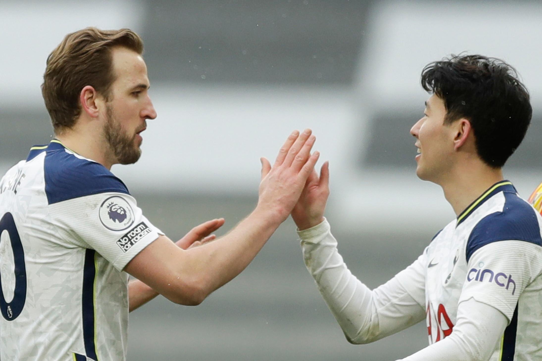 3) Kane+Son (Tottenham): 26 gol, 13+13