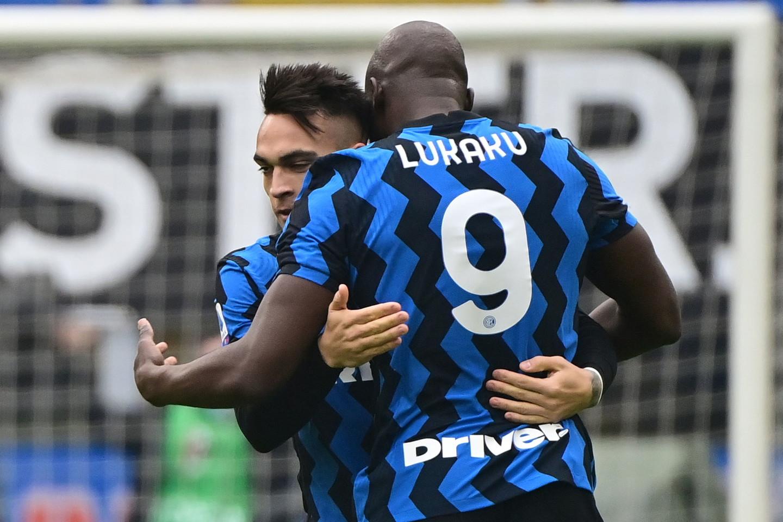 2) Lukaku+Lautaro Martinez (Inter): 30 gol, 17+13