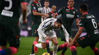 Juventus-Crotone, le immagini del match