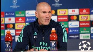 """Zidane: """"Gasp ha costruito una squadra speciale, sarà una gara difficile"""""""