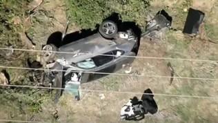 Incidente d'auto a Los Angeles per Tiger Woods: ricoverato in ospedale