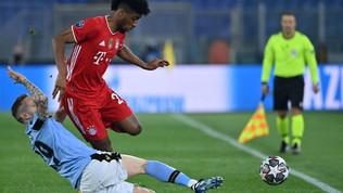 Lazio-Bayern, le immagini del match
