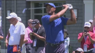 Tiger Woods sotto shock