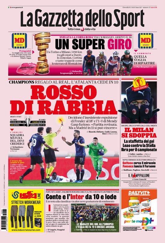 La rassegna stampa dei quotidiani italiani ed esteri.<br /><br />