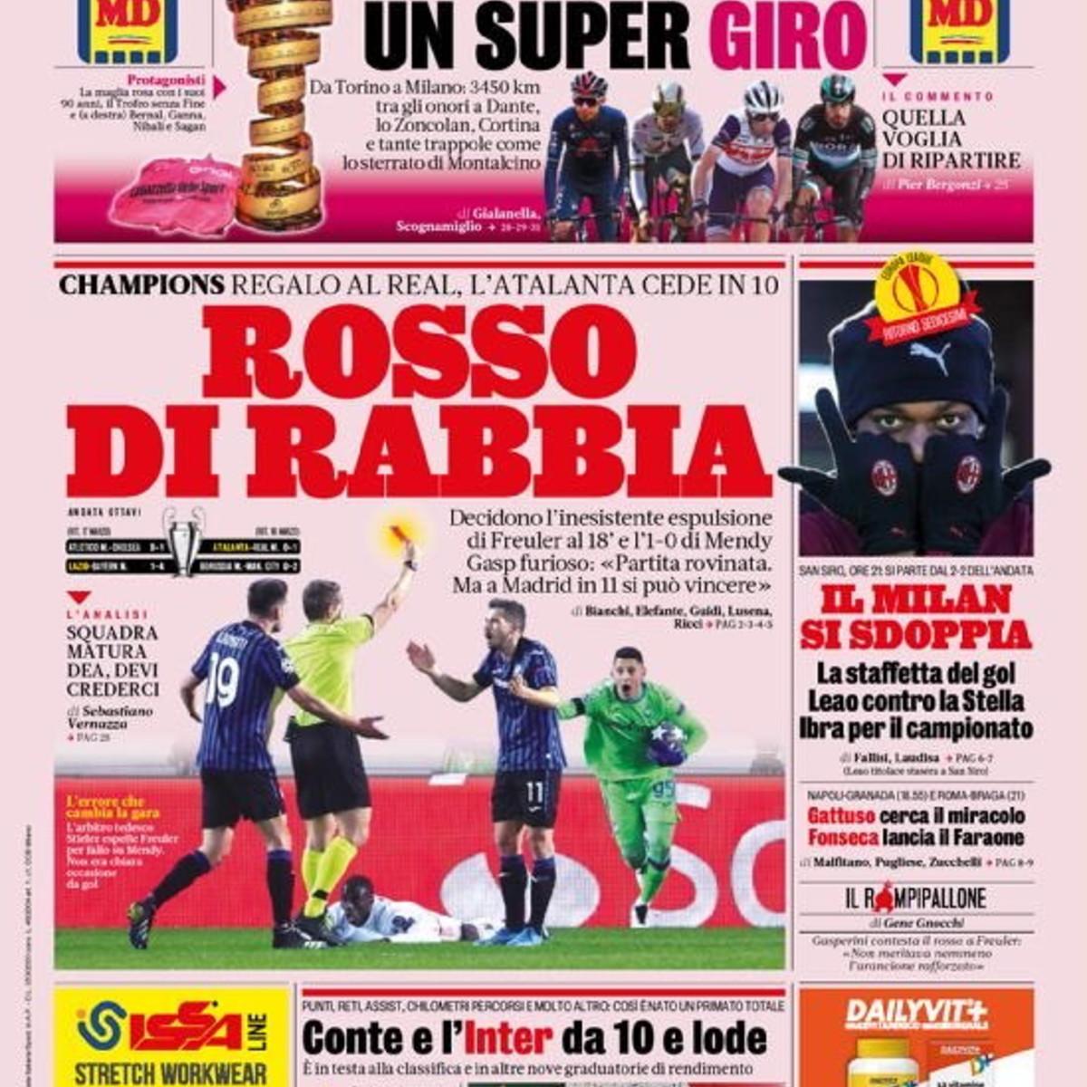 Lo sport sui giornali: la nostra rassegna